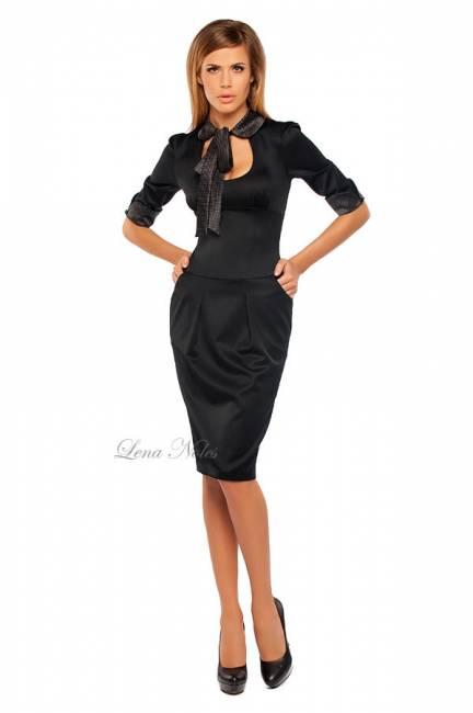 Офисные платья 2012 деловая мода для